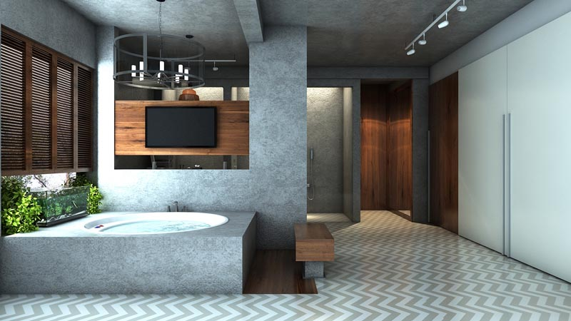3d renditions apartment in kolkata